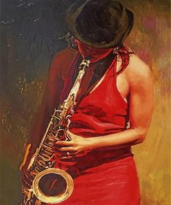 women-playing-saxophone-paint-by-number