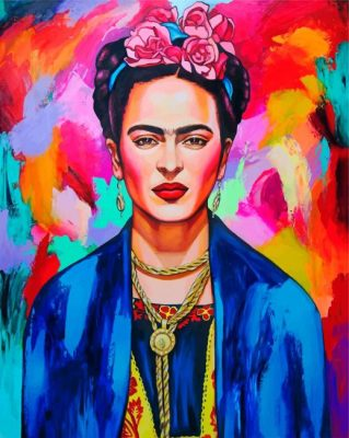Colorful-Frida-paint-by-number-319x400