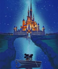 Disney-Castle-Paint-by-numbers-319x400