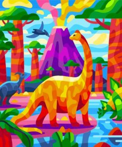 dinosaurs-(2)-paint-by-numbers