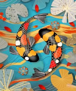 kois-fishes-paint-by-number