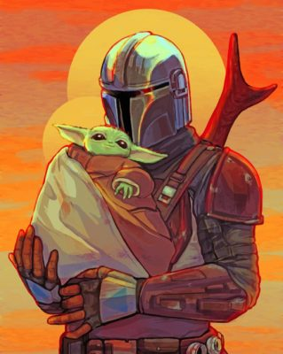 mandalorian-and-baby-yoda-paint-by-numbers