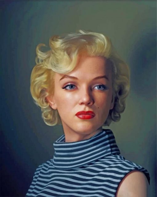 marilyn-monroe-paint-by-number