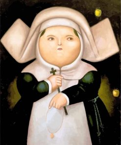 religious-fat-woman-paint-by-numbers