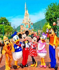 Hong-Kong-Disneyland-paint-by-number