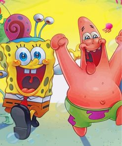spongebob-and-patrick-paint-by-numbers