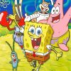 spongebob-family-paint-by-numbers