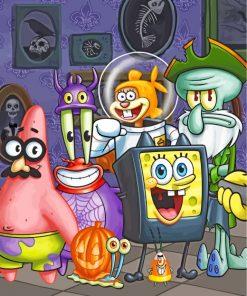 spongebob-halloween-paint-by-numbers
