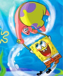 spongebob-squarepants-and-patrick-paint-by-numbers