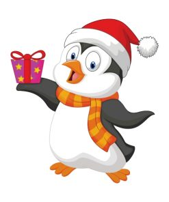 penguin-christmas-paint-by-numbers