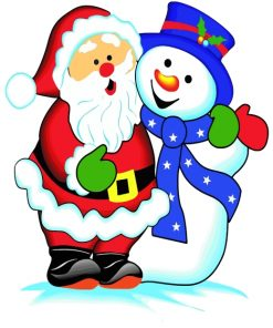 snowman-and-santa-claus-paint-by-numbers